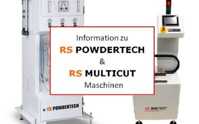 Customer information RS POWDERTECH and RS MULTICUT machines