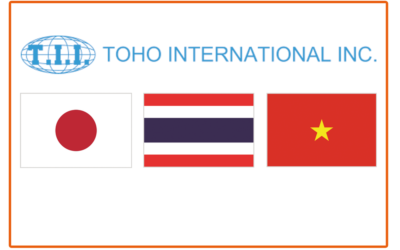 TOHO International Inc. – our agent in Japan, Thailand and Vietnam