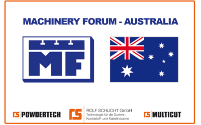 Machinery Forum Pty Ltd. our agent in Australia