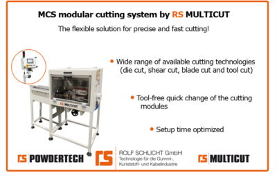 MCS Modular CUTTING system – The flexible solution!