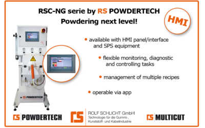 Powdering next level: The RSC-NG series with HMI interface