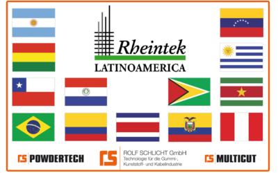 RHEINTEK LATINOAMERICA Introduction of our agent for Latinoamerica