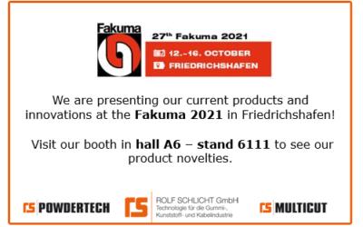 ROLF SCHLICHT GmbH at FAKUMA 2021 in Friedrichshafen